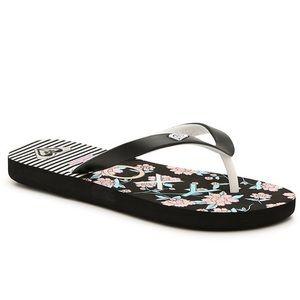 Roxy Girls Flip Flop Sandals